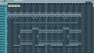 FL Studio 10   aggressive Rap/Hip-Hop Beat 2013 (Rajon Beats) + flp