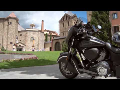 Motosx1000: En la CromRide Girona con la Indian Chieftain Dark Horse
