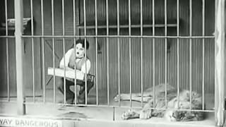 Charlie Chaplin | The Lion Cage (The Circus, 1928)