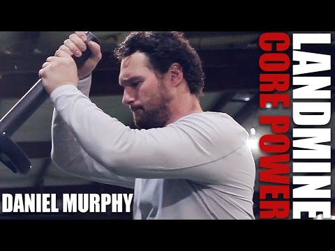 MLB All-Star Daniel Murphy's Routine for Hitting and Throwing Power