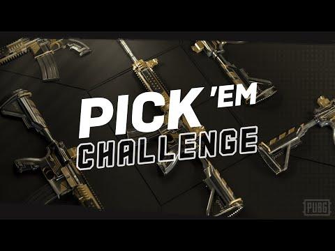 【PUBG】PCS1 Pick'em Challenge イベント