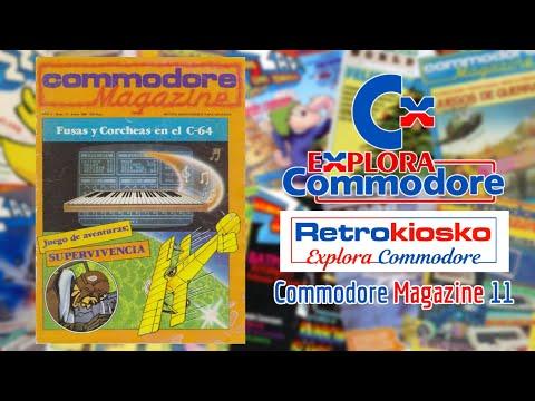 Retrokiosko Explora Commodore #14 - Commodore Magazine 11