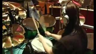 SlipKnot - Joey Jordison - Rehearsing