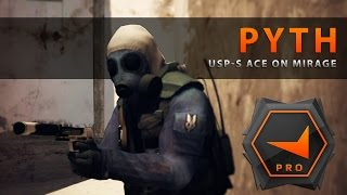 CS:GO - Pyth USP-S Ace on Mirage (FACEIT PRO LEAGUE)