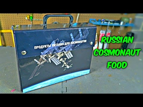 Russian Cosmonaut Food Taste Test