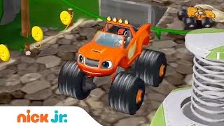 Blaze and the Monster Machines Racing Game Walkthrough | Jr. Gamers | Preschool App (AD) | Nick Jr.