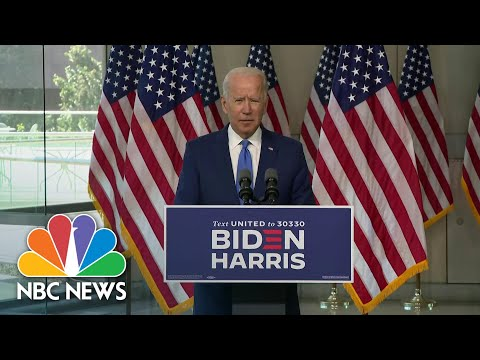 Biden Remembers Ruth Bader Ginsburg: 'The Nation Lost A Heroine, An Icon' | NBC News