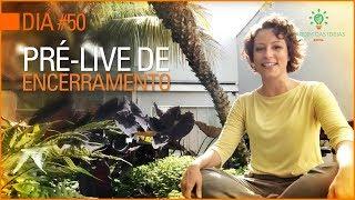 Convite da Carol Costa para a Live de encerramento dos 50 Dias de Verde