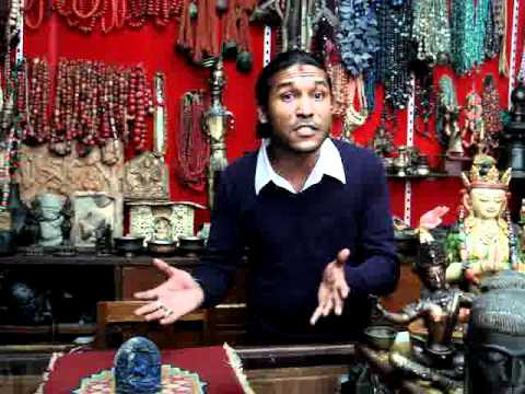 Langtang Marley Shows Lapis Tara in Kathmandu Shop