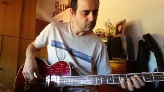 Bertha - cover bass grateful dead