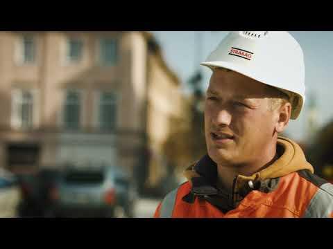 Pracownicy budowlani STRABAG – Brukarz