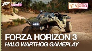 Forza Horizon 3 Gameplay: Driving the Halo Warthog