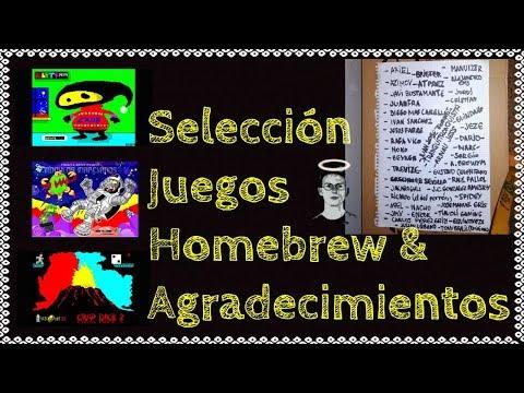 Selección de Juegos Homebrew 32 & Agradecimientos