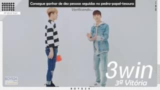 [Perfil BOYS24] - 'Tudo sobre os garotos' - Episódio 7 San [LEGENDADO PT-BR]