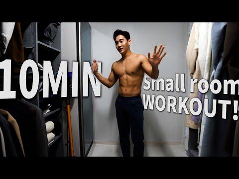 No Excuse : Small room, but Sexy muscle Workout 2021 l 물러날 곳 없는 그대 방에서 조용히 칼로리 폭파