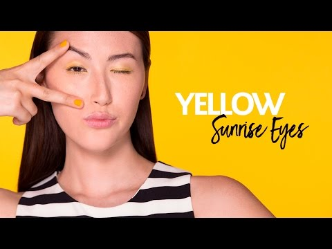 Play, Experiment, Transform with Yellow Sunrise Eyes