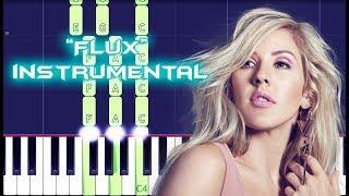 Ellie Goulding - Flux Piano Instrumental For Singers