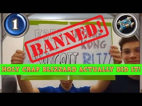 Blizzard BANNED Them! Absolutely HILARIOUS! American Hearthstone Players Punished