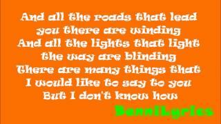 Oasis - Wonderwall (Lyrics)