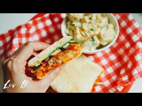 Oven-Roasted Veggie Sandwich + Chipotle Potato Salad | The Deli Series
