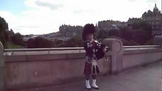 Viagem para Edimburgo de Rodrigo Ribeiro. Música escocesa com gaita escocesa