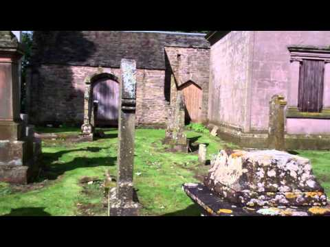 Aberuthven Parish Church Graveyard Perthshire Scotland August 29th