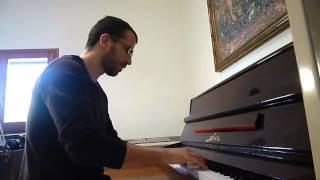 """""""Esta cobardía"""". Piano cover de Jesús Acebedo"""
