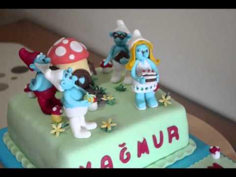 şirinler pastası.wmv
