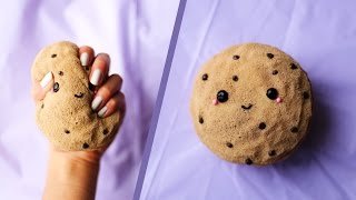 DIY Kawaii Chocolate Chip Cookie Squishy! 🍪