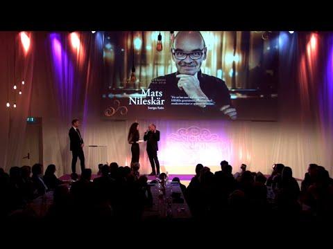 Mats Nileskär vinnare av Lukas Bonniers Stora Journalistpris – Stora Journalistpriset 2018