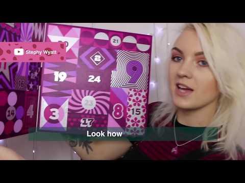 Beauty Advent Calendar Sneak Peek: Influencer Review - The Body Shop