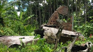 Admiral Yamamoto G4M1 Betty 2656 Bougainville Crash Site
