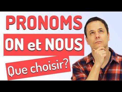 Comment utiliser les pronoms On ou Nous en Français? Tout comprendre en 5 min!
