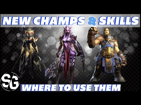 NEW CHAMPS & SKILLS 👉 NEW LOGIN 👉 WHERE TO USE THEM 👉 RAID SHADOW LEGENDS