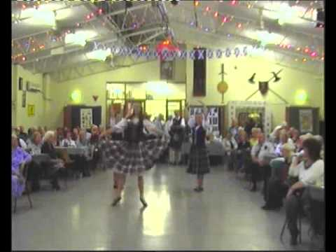 Port Adelaide Caledonian Society_ Highland Dancers_Burns Night 2011.flv