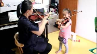 [이은서 바이올린] 보케리니 미뉴엣 (스즈키 수업 - S.Suzuki - 2015 (5 Years))