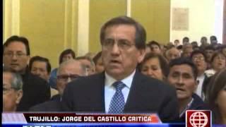 """América Noticias: Del Castillo criticó el """"trato con guantes de seda"""" que da Humala a Obregón"""
