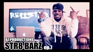 STR8 BARZ ep.7 Rellstar ( UK Rap / Grime ) Fast Rapper