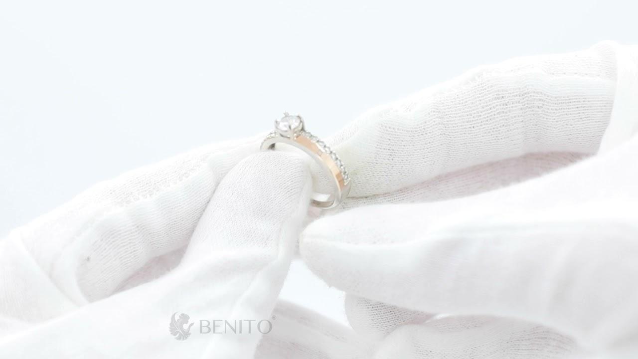 Irma Ring White Zircon Stone