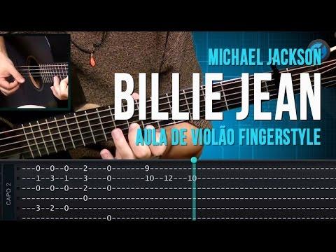 Michael Jackson - Billie Jean (Fingerstyle)