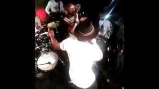 Iyanya, Kcee And Harrysong Performing Reggae Blue Live