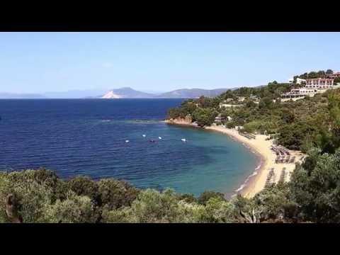 Vakre Skiathos i Hellas