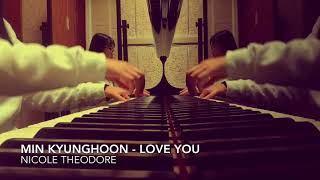 [K2 OST] Min Kyunghoon (민경훈) - Love you (piano cover)