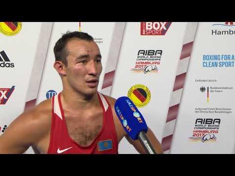 Интервью с ЧМ-2017 Альжанов 81 кг