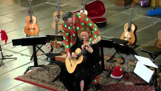 Z.o.o. guitar duo 4-hands Jingle Bells live in Amsterdam, 2015