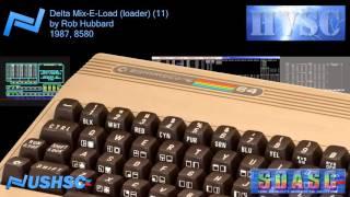 Delta Mix-E-Load (loader) (11) - Rob Hubbard - (1987) - C64 chiptune