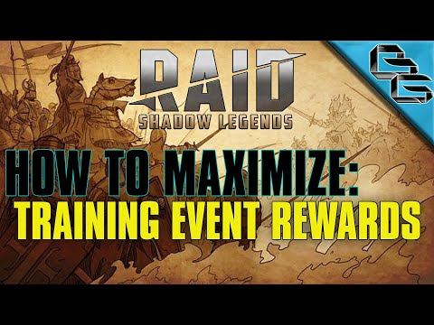 RAID: Shadow Legends | How to maximize Champion Training Event rewards !! | F2P