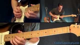 Don't Stop Believin' Guitar Solo Lesson - Journey - Famous Solos