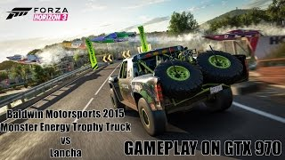 Forza Horizon 3 (PC) - Baldwin Motorsports vs Lancha - Gameplay on GTX 970