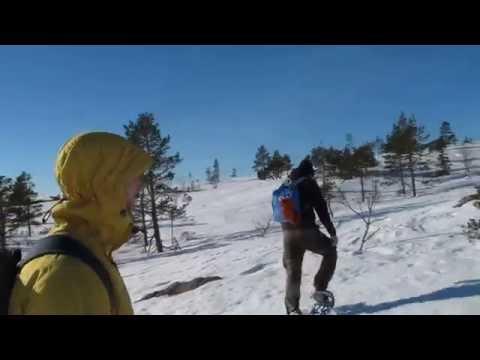Snöskor i Skuleskogen / Snowshoes in Skule National Park (3/4).MOV